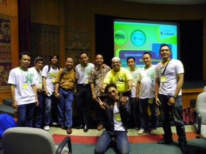 TFT Blog bersama Indosat, dan bertemu Pak Agus Sampurno